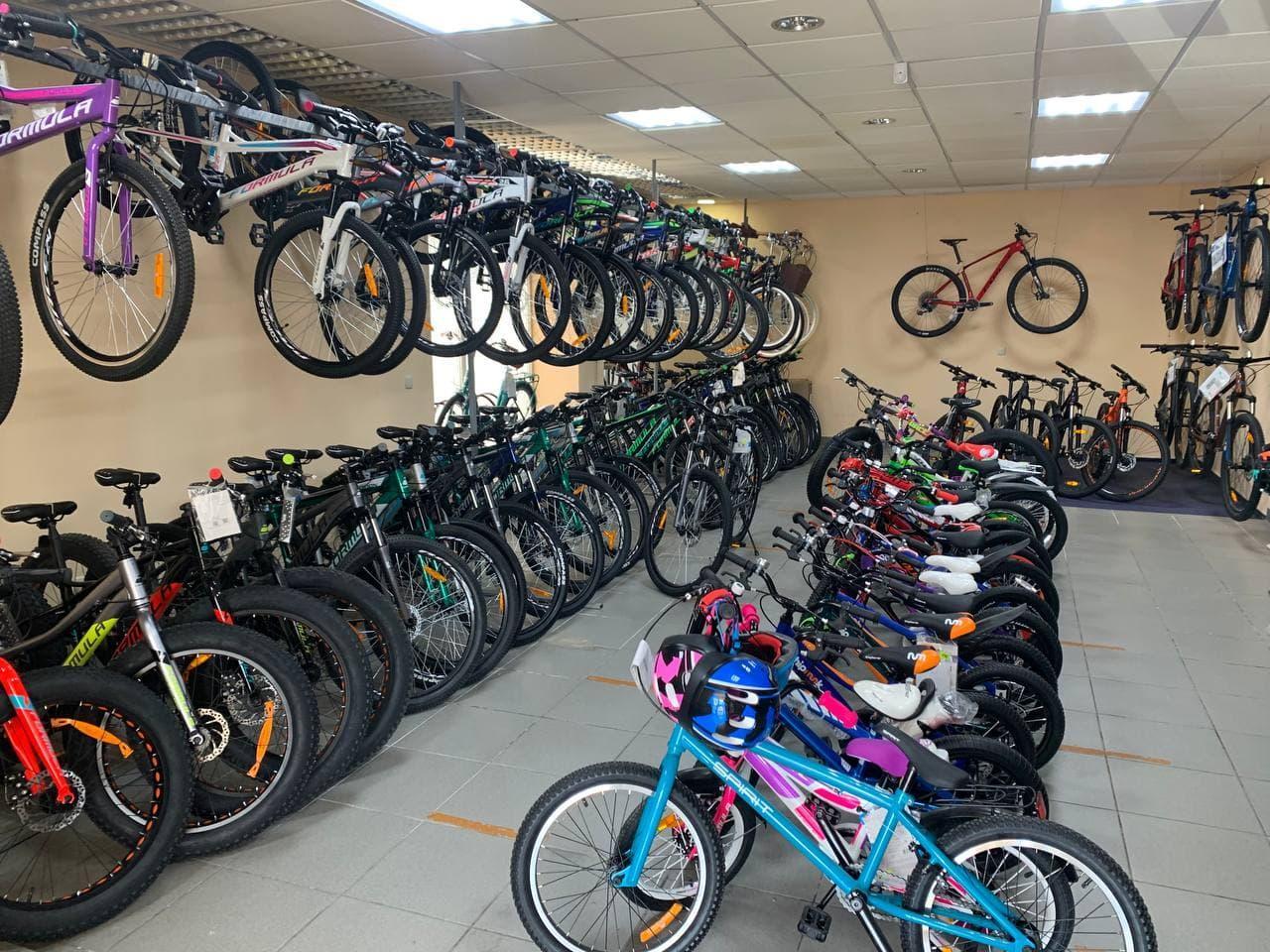 Великий вибір велосипедів