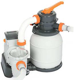 Фильтрационная установка Bestway FlowClear 58499 (7,7 м³/час) для надувных и каркасных бассейнов