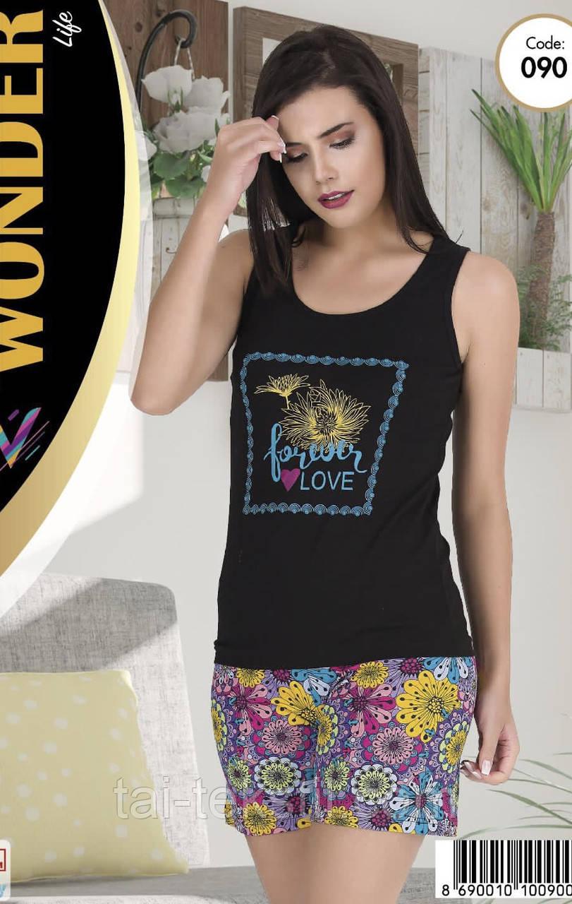 Комплект майка с шортами качество хлопок с лайкрой т.м NEW ANGEL № 090