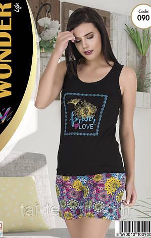 Комплект майка с шортами качество хлопок с лайкрой т.м NEW ANGEL № 090, фото 2