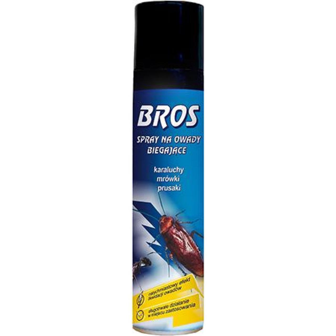 Аэрозоль от нелетающих насекомых Bros 1491 400мл