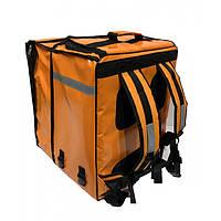 Рюкзак-трансформер для кур'єрів, терморюкзак для доставки., фото 1