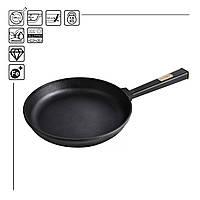 Сковорода чавунна Optima-Black, 240х40 мм, фото 1