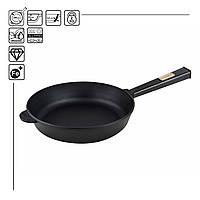 Сковорода чавунна Optima-Black, 240х60 мм, фото 1