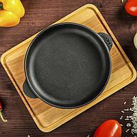 HoReCa, Сковорода чугунная с подставкой BRIZOLL 160х25 мм, фото 1