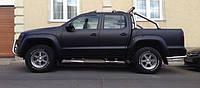 НАШИ РАБОТЫ: VW Amarok покрытие черным матовым винилом