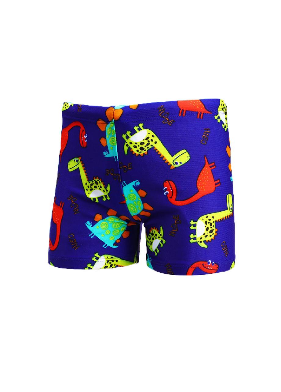 Плавки боксеры синие пляжные мальчикам