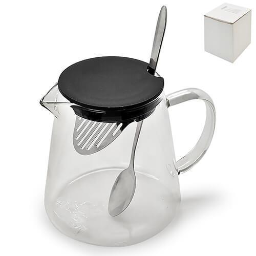 Заварочный чайник 750 мл с ложкой