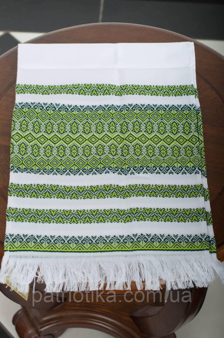 Рушник обрядовый зеленый | Рушник обрядовий зелений 1,8 м