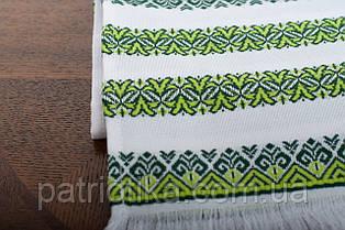 Рушник обрядовый зеленый | Рушник обрядовий зелений 1,8 м, фото 2