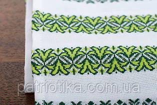 Рушник обрядовый зеленый | Рушник обрядовий зелений 1,8 м, фото 3
