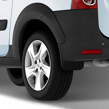 Бризковики задні для LADA Largus/Dacia Logan 2007-, ун., 2 шт.