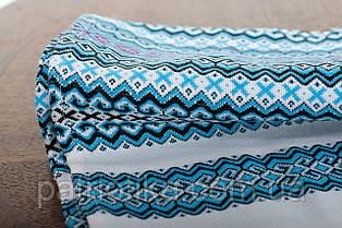 Рушник обрядовый голубой | Рушник обрядовий блакитний 2,4 м, фото 3