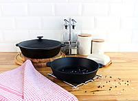 Сковорода чугунная без ручки, ЖАРОВНЯ, 280х60 мм, фото 10