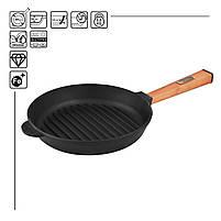 Сковорода чавунна гриль BRIZOLL Optima, 280х50 мм, фото 2