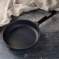 Сковорода чавунна Optima-Black, 200х35 мм, фото 3