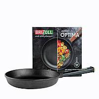 Сковорода чавунна Optima-Black, 220х40 мм, фото 3