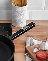 Сковорода чавунна Optima-Black, 220х40 мм, фото 4