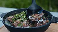 HoReCa, Сковорода чугунная WOK BRIZOLL 180х63 мм, фото 5