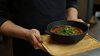 HoReCa, Сковорода чугунная WOK BRIZOLL 180х63 мм, фото 7