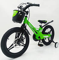 Дитячий Велосипед MARS-2 Evolution» 18дюймов. Суперлегкий. Зелений, фото 1