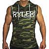 """Чоловіча Безрукавка з капюшоном """"Ryderwear"""", фото 10"""