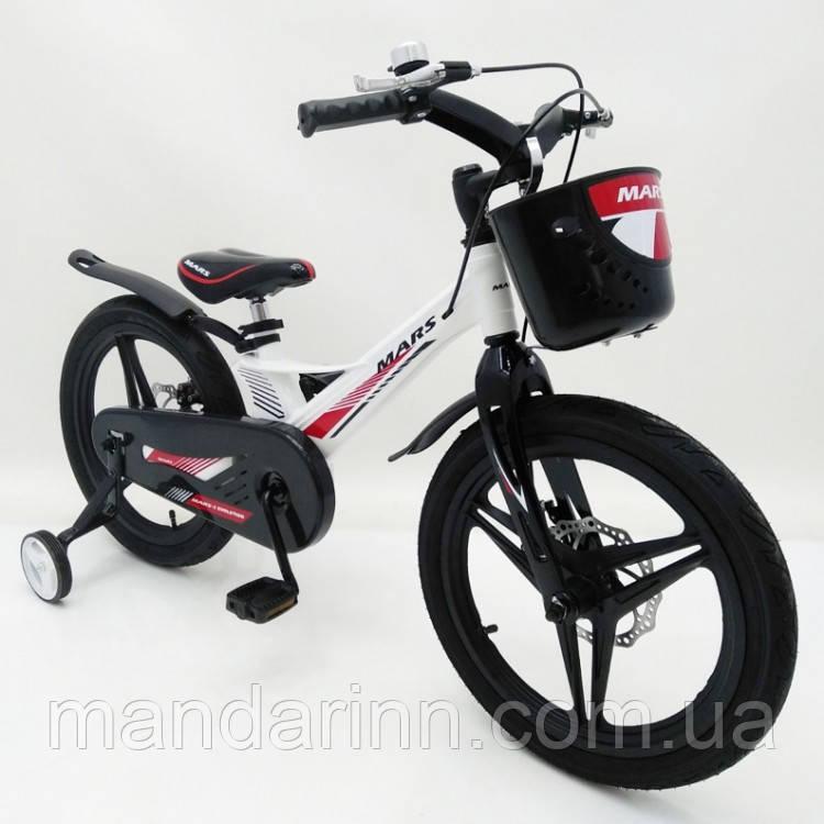 """Детский велосипед «MARS-2 Evolution»"""" 16 дюймов Суперлегкий. Белый"""