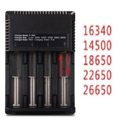 Универсальное зарядное устройство 26650 18650 14500 16340 22650