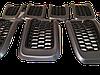 Решітка капота, комплект 7 шт., темно-сірі для Jeep Cherokee KL 2014-2018 Джип Черокі (КЛ) 6CY39XS9AC, фото 4