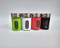 Емкость для соли, перца или специй 8*4.8см стекло