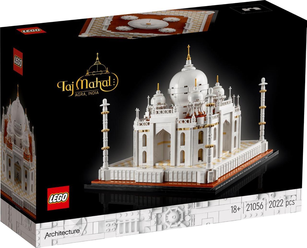 Лего архітектура Тадж-Махал Lego Architecture 21056