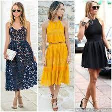 В чем секрет женского платья