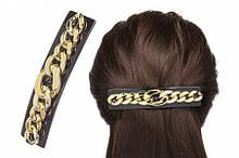 Заколка для волос автоматическая 11 см