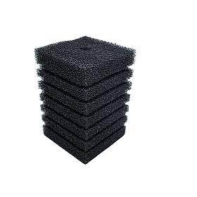 Губка для фільтра квадратна з прорізами 10х10х15 см