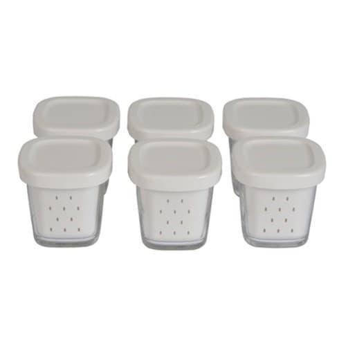 Набір банок для йогуртниці Tefal (6шт) XF100501, XF100032