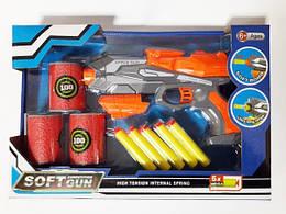 Пистолет с присосками и мишенью, 5 стрел, Оружие с присосками