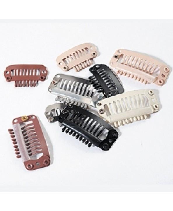 Заколки для накладных волос и рукоделия 32 мм гребешком
