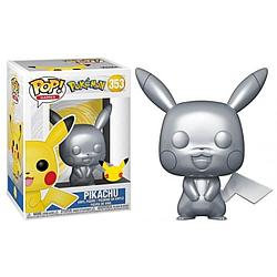 Фігурка Funko Pop Фанко Поп Покемон Го Пікачу Pokemon Pikachu (Exclusive) 10см Game PG P 353