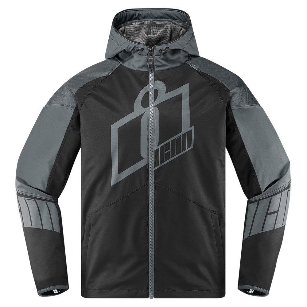 Куртка Icon Grey Merc Crusader