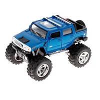 Дитяча колекционная машинка Kinsmart Hummer KT5326W Синя