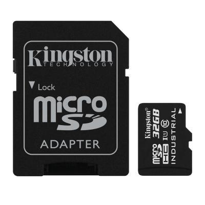 Карта пам'яті Kingston 32Gb microSDHC class 10 UHS-I Industrial (SDCIT/32GB)