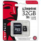 Карта пам'яті Kingston 32Gb microSDHC class 10 UHS-I Industrial (SDCIT/32GB), фото 2