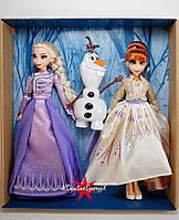 Холодне серце Делюкс набір Ельза, Анна і Олаф Disney Frozen Elsa, Anna, & Olaf Deluxe Fashion Doll