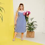 Стильне плаття жіноче Софт Розмір 50 52 54 56 58 В наявності 5 кольорів, фото 4