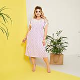 Стильне плаття жіноче Софт Розмір 50 52 54 56 58 В наявності 5 кольорів, фото 10