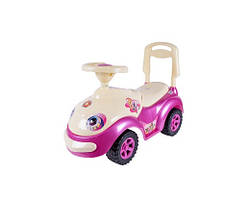 Машина каталка Луноходик (розовый)