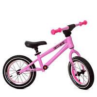 Беговел Profi Kids: резиновые колеса, руль, алюминиевый обод