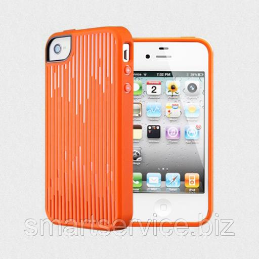 Чехол SGP Modello для iPhone 4/4s, оранжевый