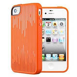 Чехол SGP Modello для iPhone 4/4s, оранжевый, фото 5