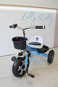 Триколісний велосипед Best Trike LM, Салатовий Блакитний